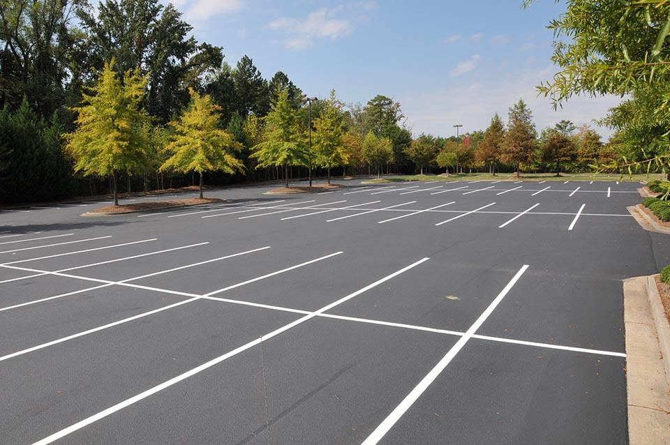 Parking Lot Striping Amp Design Zebra Striping